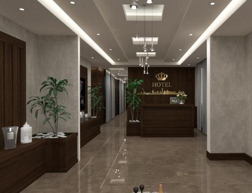 طراحی معماری سازه برق و مکانیک هتل