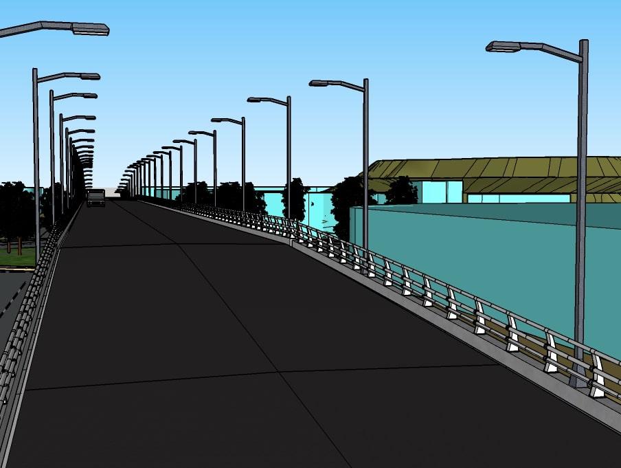 طراحی و اجرای پل